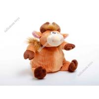 Мягкая игрушка - Конфетница Бычок коричневый