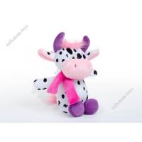 Мягкая игрушка - конфетница Корова в шарфе