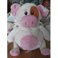 бело-розовая свинка рюкзак