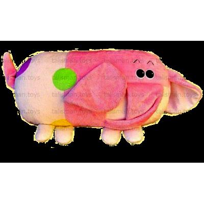 подушка слон цветная