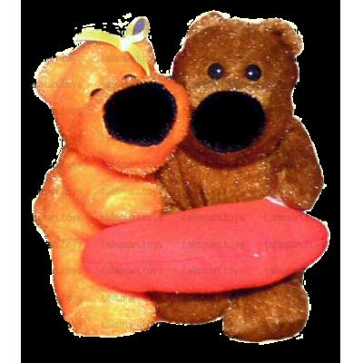 сладкая пара медведи