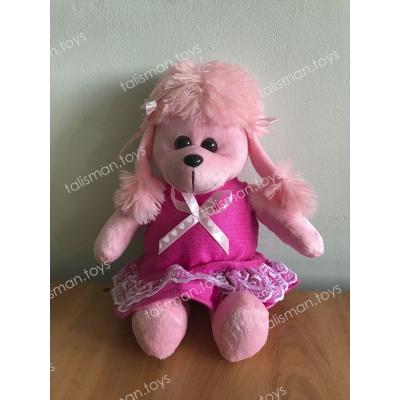 розовый пудель