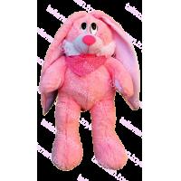 Зайка розовый