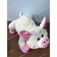 бело-розовая свинка