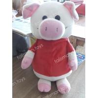 свинка в розовом платье